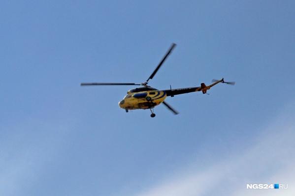 Вертолет с поддельными документами сняли с эксплуатации