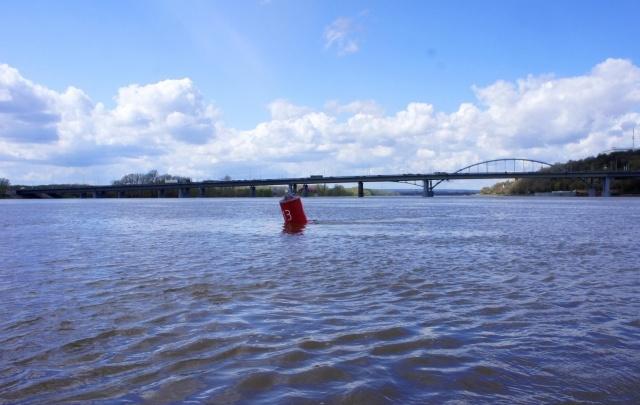 Стали известны максимальные уровни подъема воды в реках Уфы