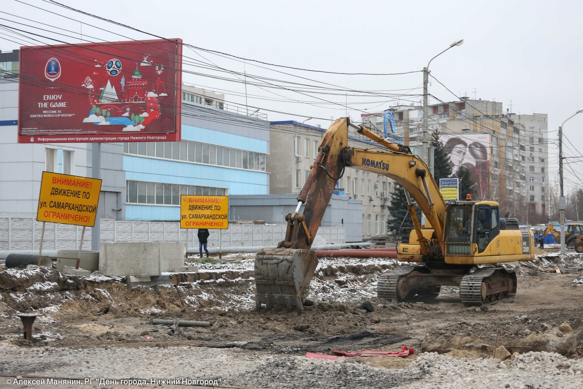 Участок улицы Самаркандской может быть открыт менее, чем через неделю