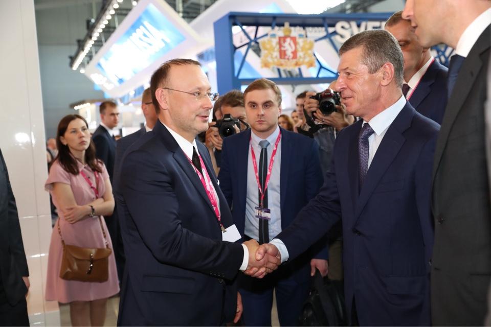 «Есть, что позаимствовать у российских коллег»: зарубежные гости оценили стенд РМК на «Иннопроме»