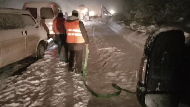 Массовое ДТП под Арзамасом: на скользкой дороге столкнулись сразу 7 автомобилей