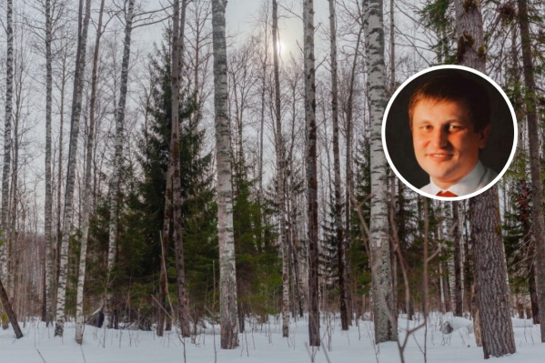 Мужчину нашли в лесу