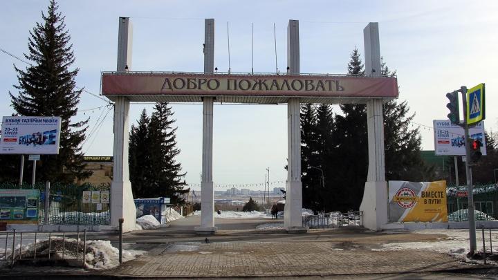 В Советском парке омичка погибла, ударившись о столб на лыжероллерной трассе