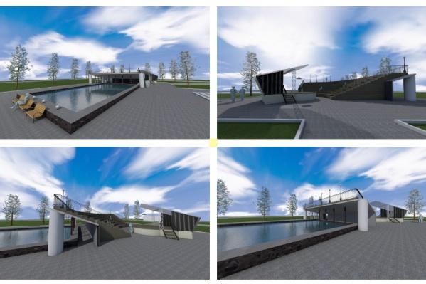 Так будет выглядеть сквер Высоцкого после реконструкции