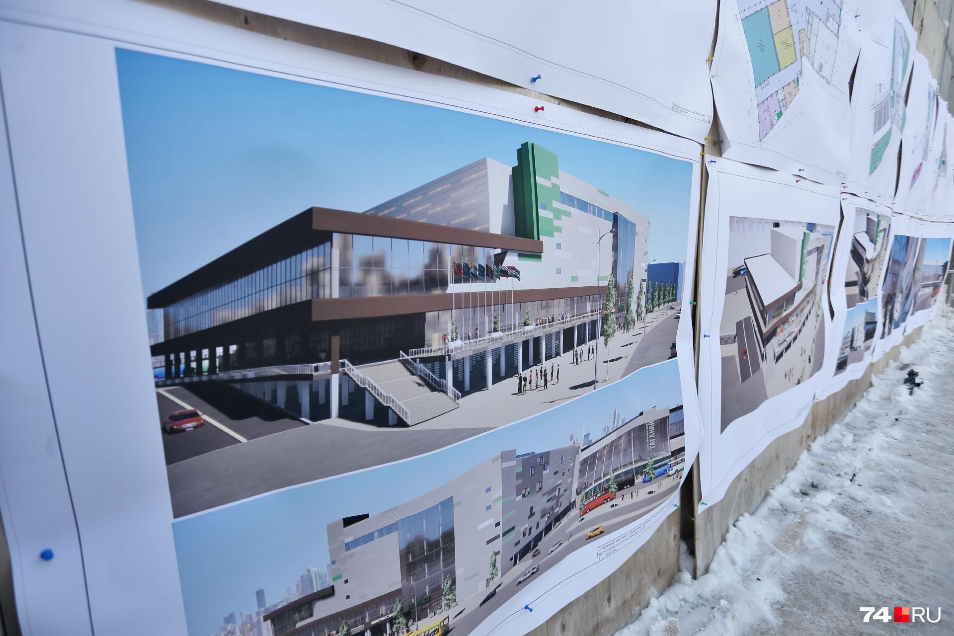 Здание станет основной площадкой для приёма гостей саммитов