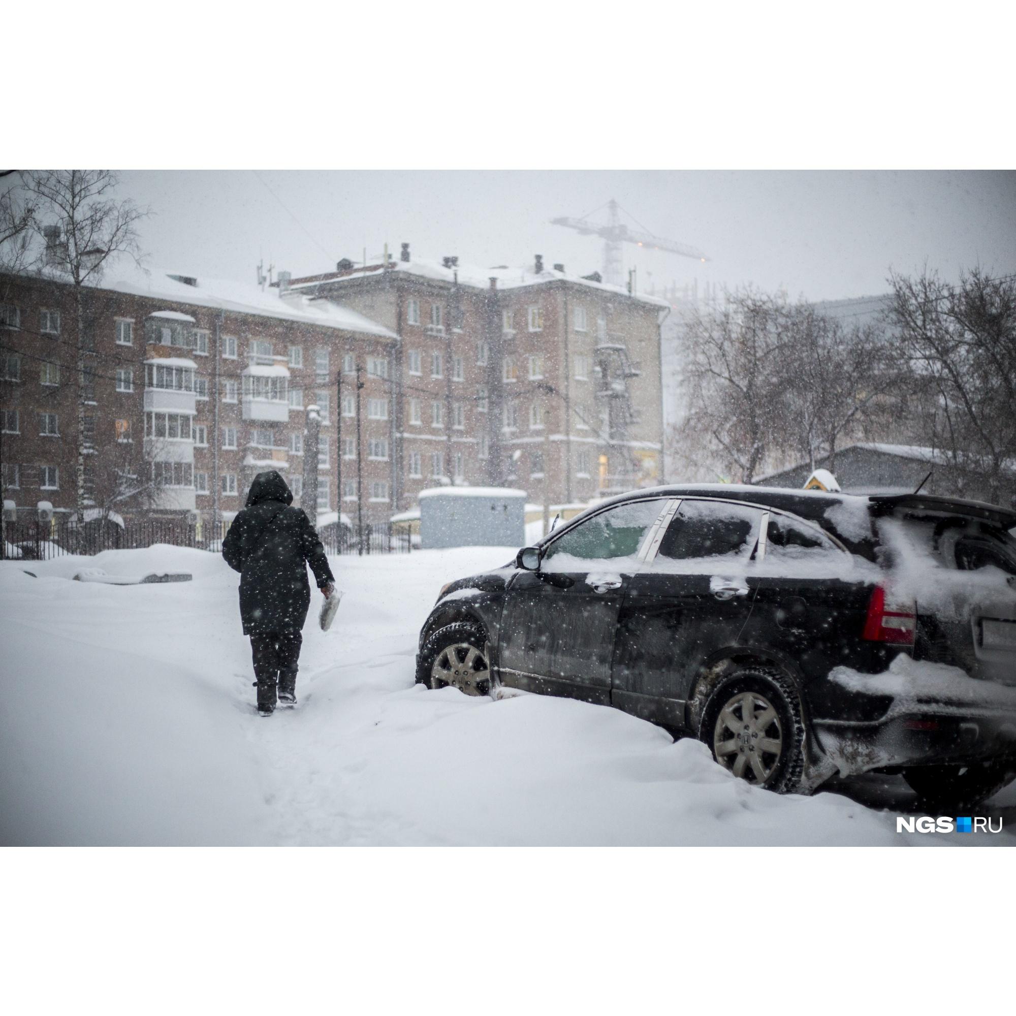 Мэрия предложила горожанам отказаться от личного транспорта на время сильных снегопадов