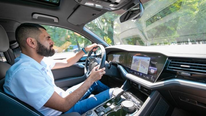 В Ростове-на-Дону представили Volkswagen Touareg с инновационным дизайном