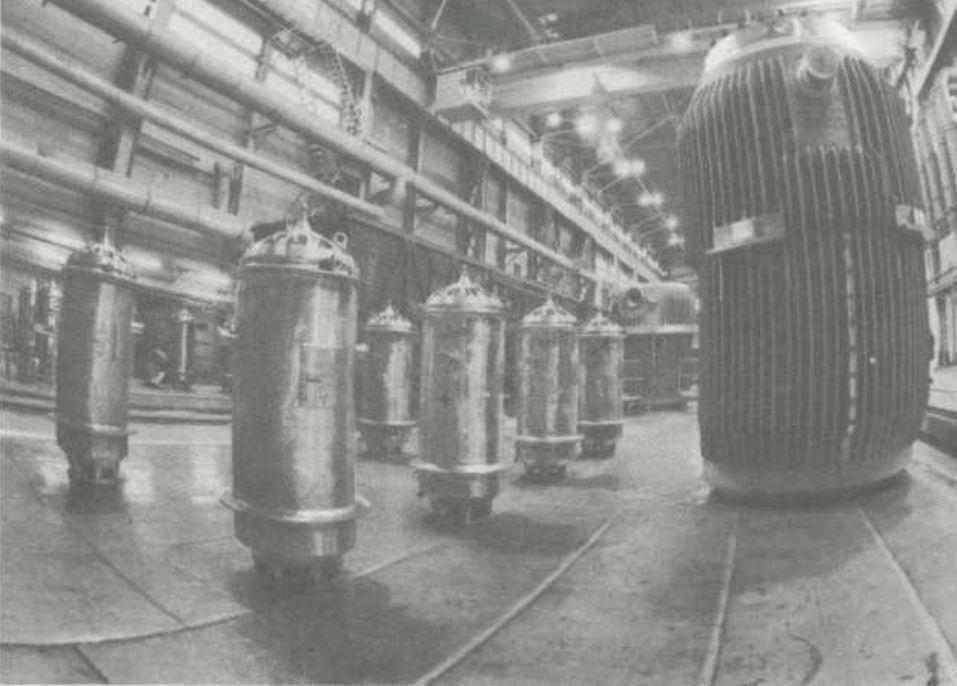 Цех радиохимического завода, где выделяли плутоний