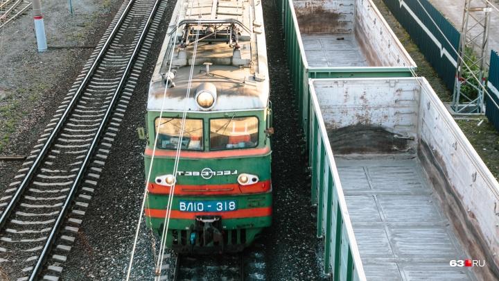 В Самарской области поезд сбил насмерть женщину