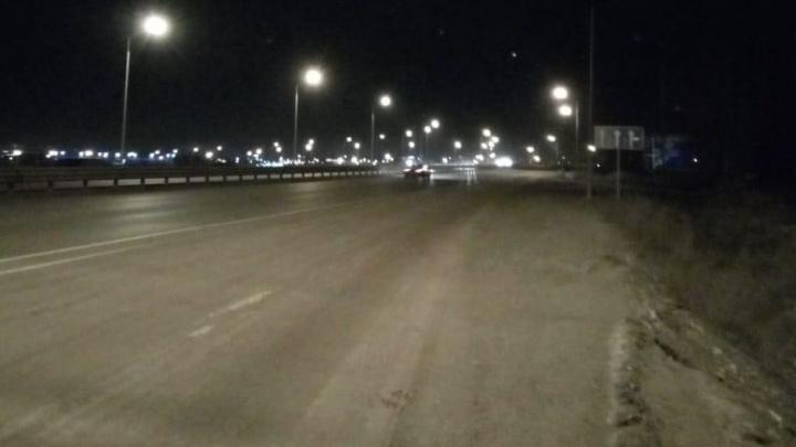 Опасный участок Полевского тракта в районе ЕКАД осветили фонарями на протяжении двух километров