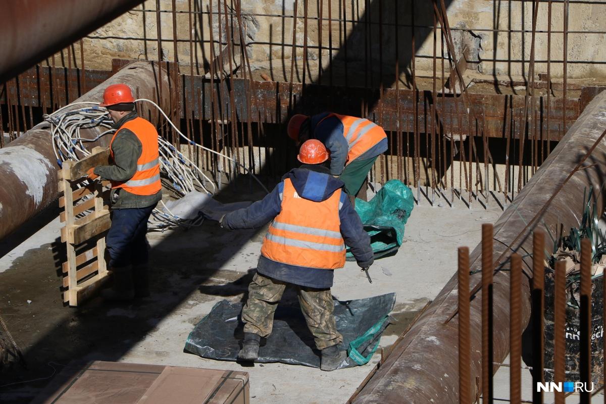 Денег за работу на «Стрелке» недополучили не только строители, но и охранники