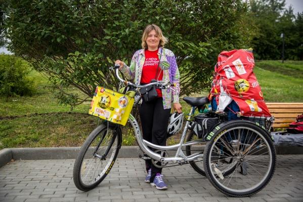 Наталья Иванова отметит в путешествии по России своё 44-летие