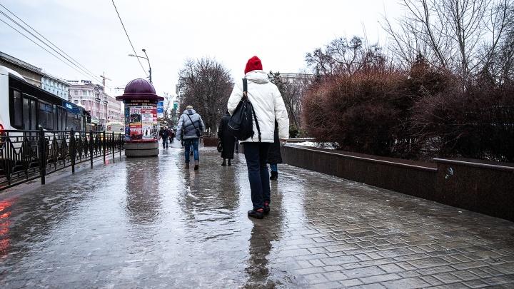 Инструкция 161.RU: как в гололед пройти по Ростову и не попасть в травмпункт
