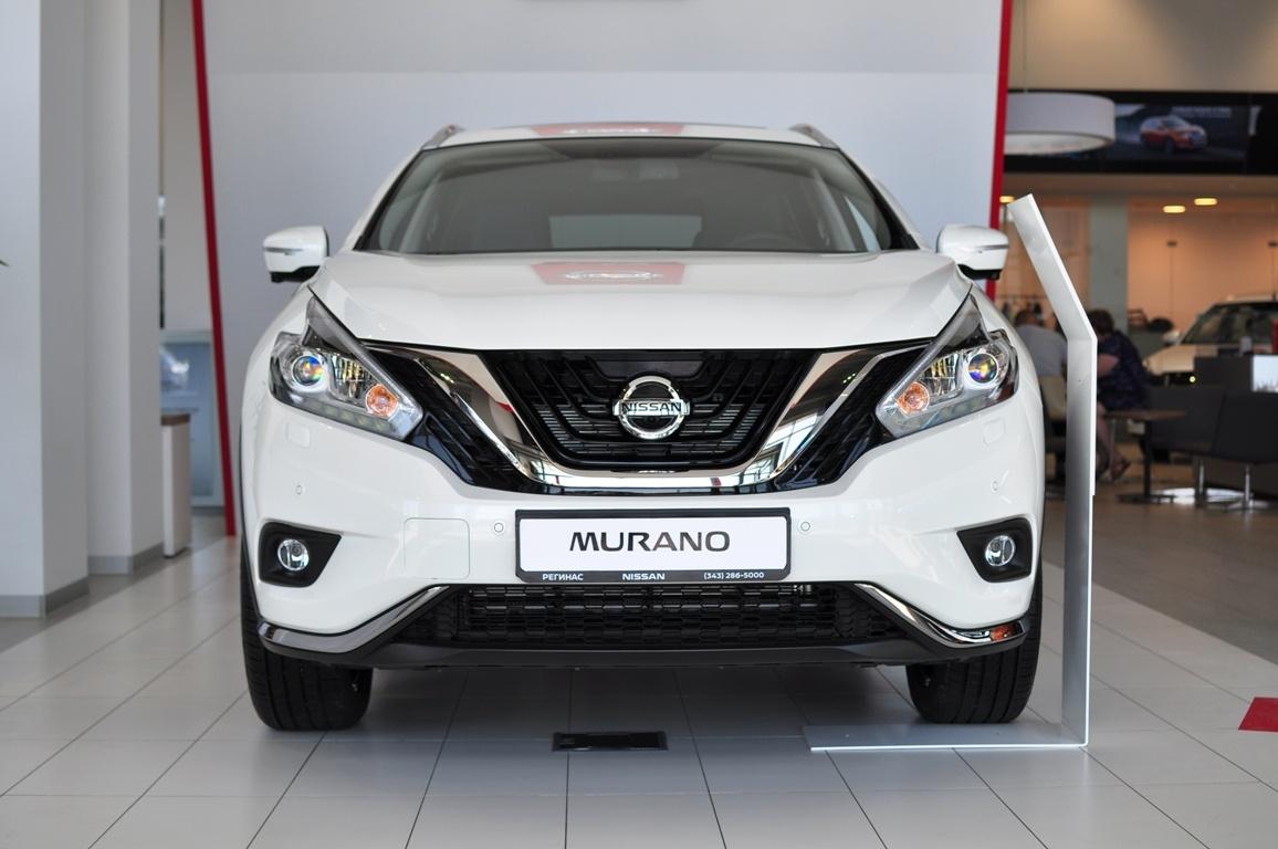Nissan Murano от 2 480 000 рублей в наличии в «Регинасе»: максимальная комплектация