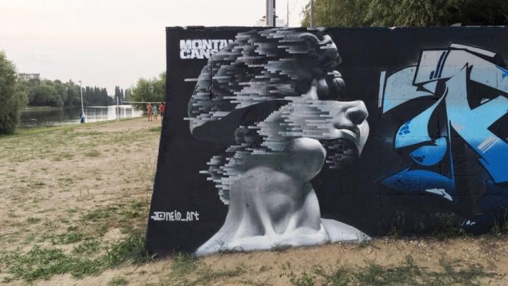 «Сам мэр предложил»: челябинский художник распишет дома в Краснодаре