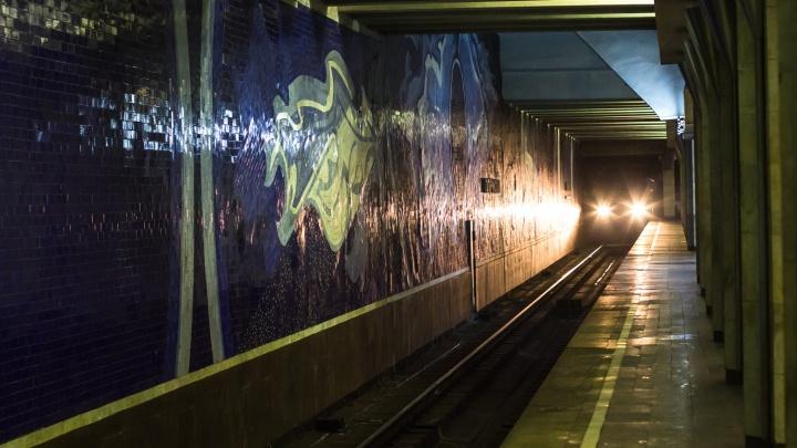Прорыв теплотрассы на станции метро «Гагаринская» устранили