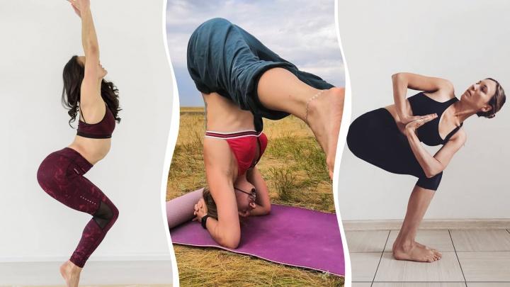 Покажи свой Instagram: смотрим на очень гибких челябинок, регулярно практикующих йогу