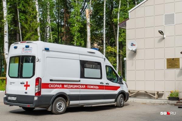 Машины скорой помощи в Чайковском не меняют около 11 лет