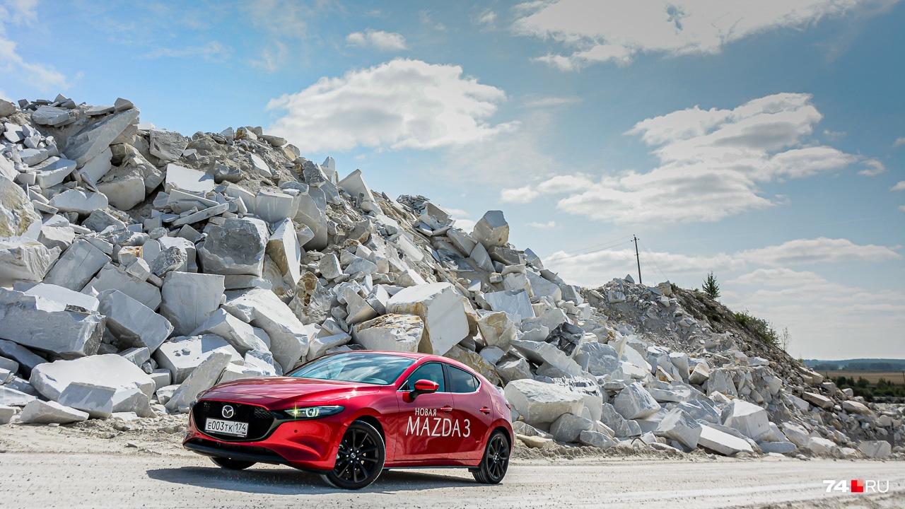 Mazda3 получила фирменное «лицо»