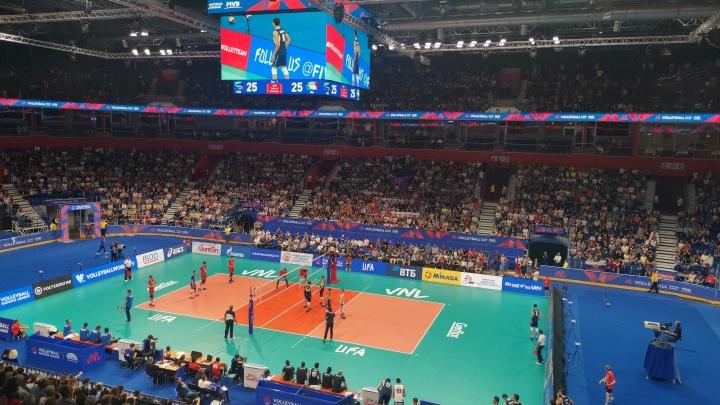 Россия — три из трех: в Уфе завершился этап волейбольной Лиги наций