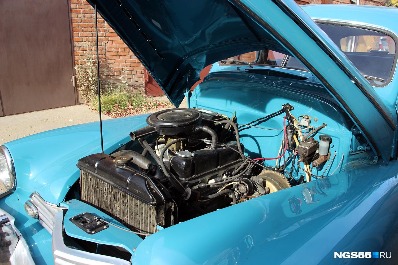 Двигатель работает на отлично!