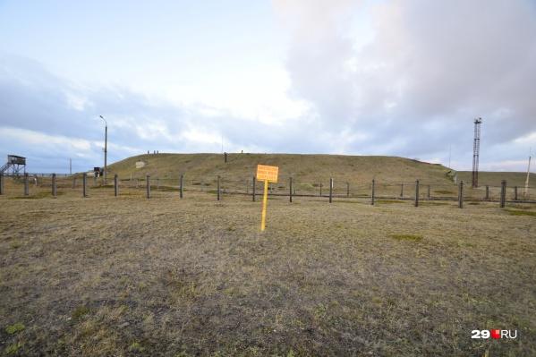 Военный полигон вблизи Нёноксы
