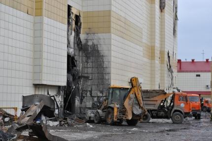 Собственник сгоревшего ТЦ перевёл 192 миллиона для семей погибших в пожаре