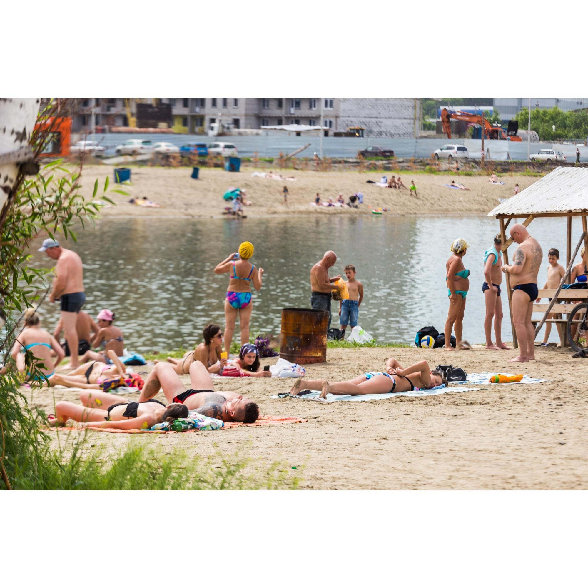 Спасатели постоянно предупреждают, что в озере Юго-Западного жилмассива купаться опасно