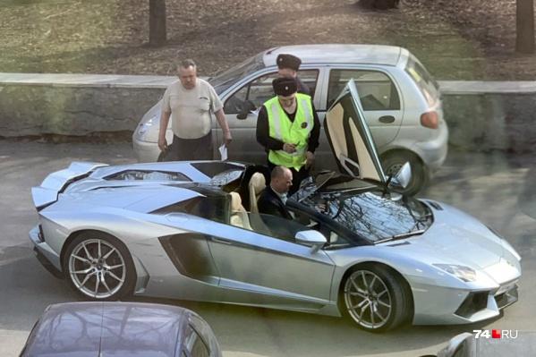 В автопарке Александра Аристова несколько машин стоимостью свыше 20 миллионов рублей
