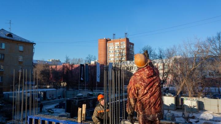 Новый Екатеринбург: в центре города появится стильный дом из стекла и камня