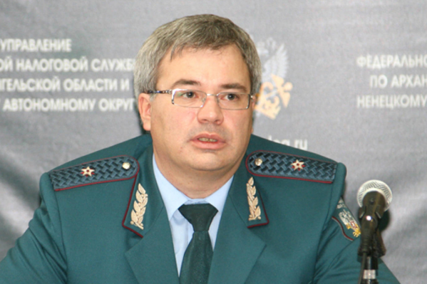 Сергей Родионов занимает пост главы УФНС Архангельской области семь лет