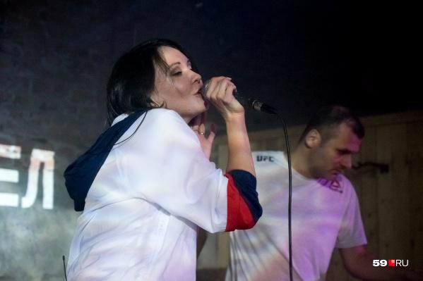 Илья Барамия и Айгель Гайсина дали концерт в пермском клубе