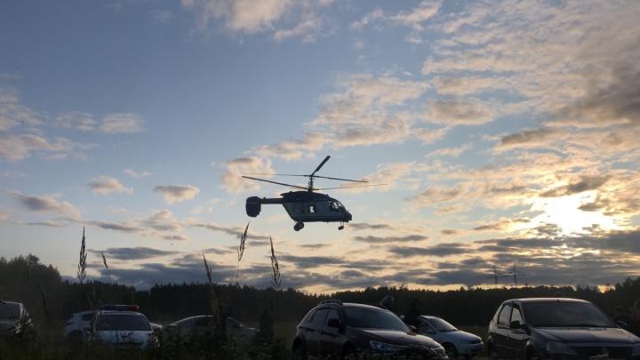 Заблудившуюся под Балахной бабушку спасали вертолетом