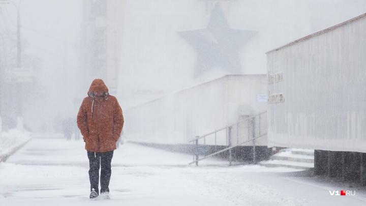 Мороз покажется крепким: в День защитника Отечества замерзающий Волгоград засыплет снегом