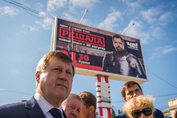 Иск в суд подал другой кандидат в мэры — бывший вице-губернатор Новосибирской области Виктор Козодой