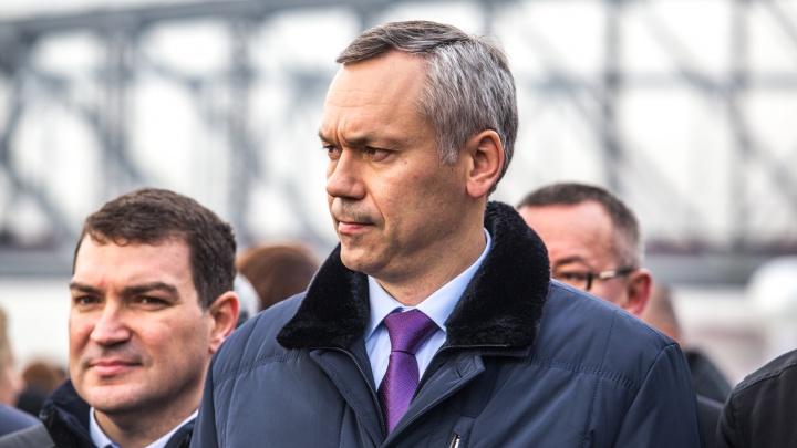 Травников ответил на критику Локтя: «Нельзя загонять автомобилистов на платный мост»