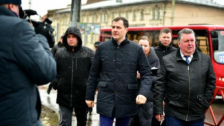 «Нужно улучшать»: мэр Ярославля оценил тротуары