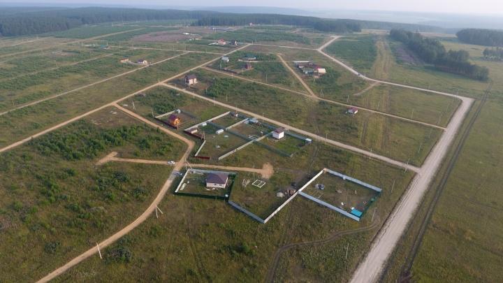 Всего 60 000 рублей за сотку: земельные участки рядом с водоёмом и в окружении леса продают недалеко от Екатеринбурга