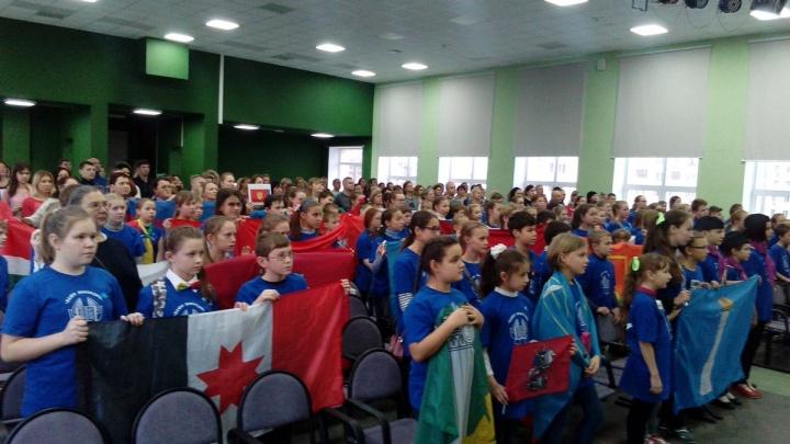 На олимпиаду в Самару приехали 120 школьников — знатоков Поволжья со всей России
