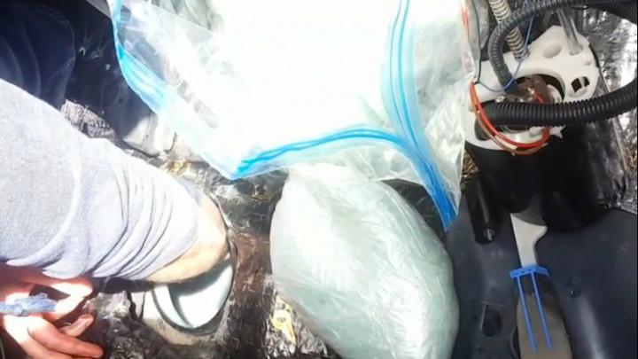 Утопил в бензобаке: в Челябинске огласили приговор водителю, который попался с 20 кг «соли для ванн»