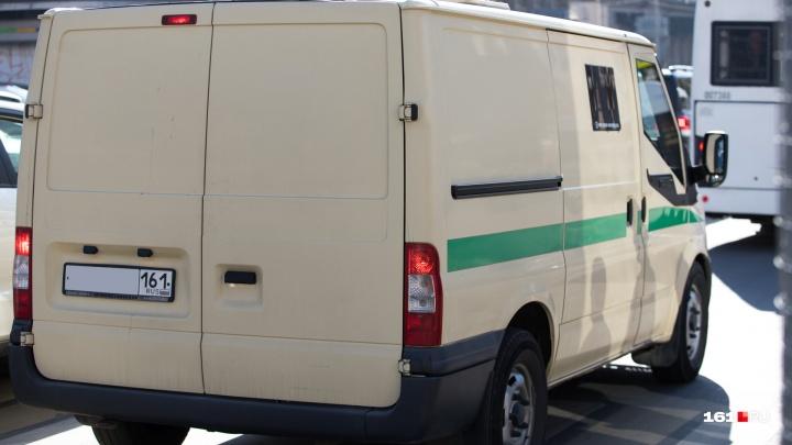В Ростове задержали мужчину, которого подозревают в нападении на инкассаторов