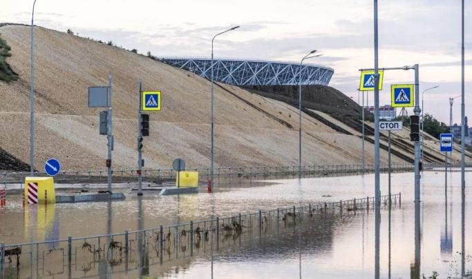 В Волгограде начали строить очистные сооружения для ливневой канализации