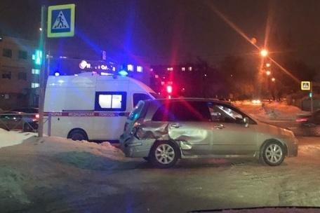 Авария случилась на перекрёстке Немировича-Данченко и Таймырской в 20:05
