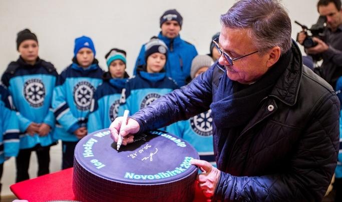 Фазель: молодежный чемпионат мира по хоккею 2023 года пройдет в Новосибирске