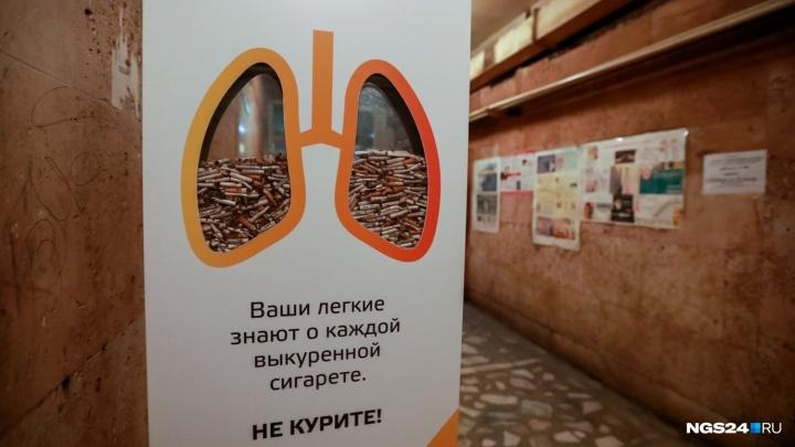 В Железногорске задержали партию нелегальных сигарет на 700 тысяч рублей