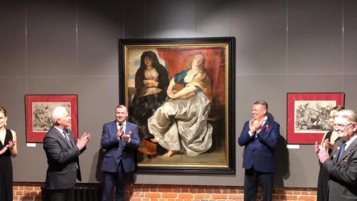 Подлинность доказывали 40 лет: в Екатеринбург привезли 400-летнюю картину Рубенса