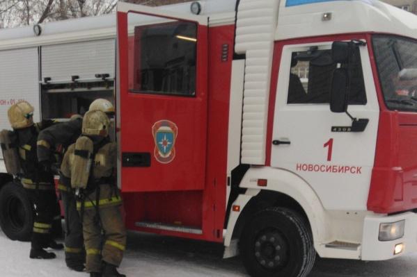 Пожар произошёл в травматологическом отделении на третьем этаже