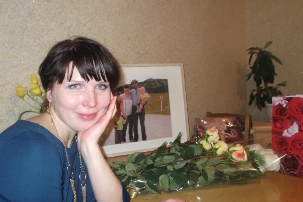 Оксана Мартынова счастлива в материнстве