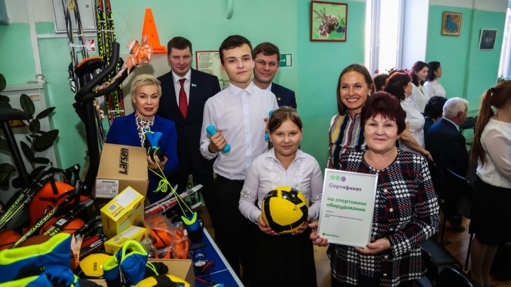 «МегаФон» передал миллион на проект для детей из коррекционных школ Башкирии