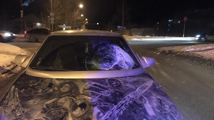 В Первоуральске водитель «двенадцатой» сбил 68-летнего мужчину недалеко от пешеходного перехода